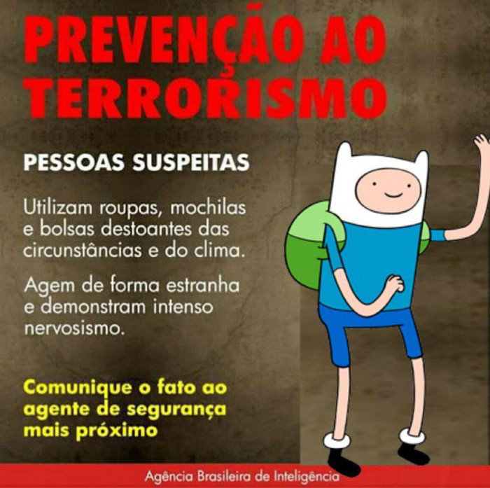 Lei antiterrorismo - Adventure Time